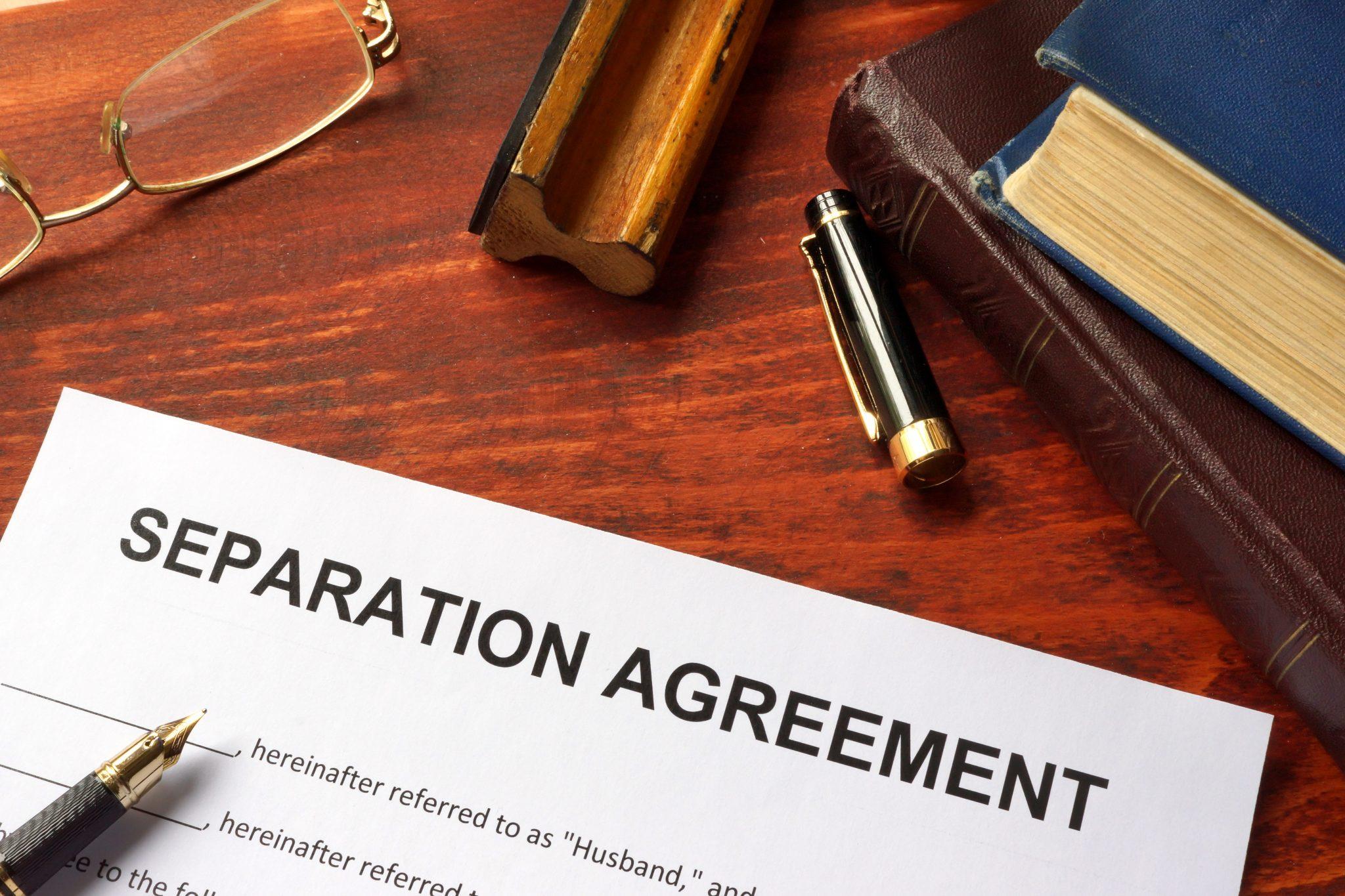 Separation Agreement - Okanagan Divorce | Family Mediation Center
